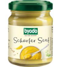 byodo Scharfer Senf, 125 ml Glas