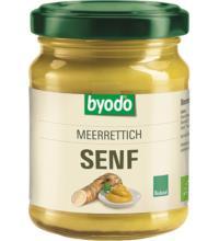 byodo Meerrettich Senf, 125 ml Glas