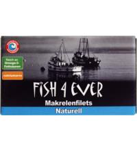 Fish For Ever Makrelenfilets Naturell, 125 gr Dose (85 gr)