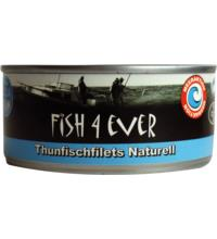 Fish For Ever Thunfischfilets Naturell, 160 gr Dose (112 gr)