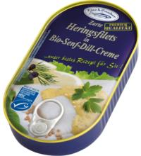 Fischzauber Heringsfilet in Senf Dill, 200 gr Dose