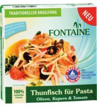 Fontaine Thunfisch für Pasta Oliven, Kapern und Tomate, 200 gr Dose (148 gr)