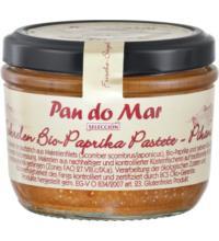 Pan do Mar Makrelen Bio-Paprika Pastete pikant, 125 gr Glas (105 gr)