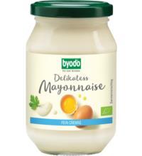 byodo Delikatess-Mayonnaise mit Ei, 250 ml Glas