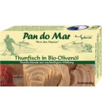Pan do Mar Thunfisch, in Bio-Olivenöl extra nativ, 120 gr Dose (90 gr)