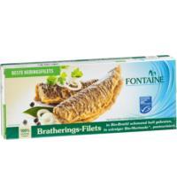 Fontaine Bratherings-Filets, in Bio-Marinade, 325 gr Dose (200 gr)