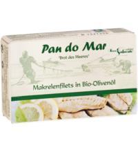 Pan do Mar Makrelenfilets, in Bio-Olivenöl extra nativ, 120 gr Dose (90 gr)