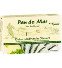 Pan do Mar Sardinen,  in Bio-Olivenöl extra nativ, 120 gr Dose (90 gr)