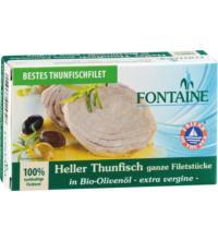 Fontaine Heller Thunfisch, in Bio-Olivenöl, 120 gr Dose (90 gr)