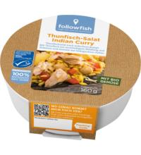 followfish Thunfisch-Salat Indian Curry, 160 gr Dose