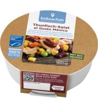 followfish Thunfisch-Salat el Gusto Mexico, 160 gr Dose