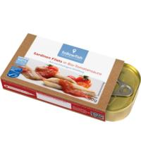 followfish Sardinen Filets in Bio-Tomatensauce, 90 gr Dose