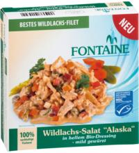 Fontaine Wildlachs-Salat Alaska, 200 gr Dose (130 gr)