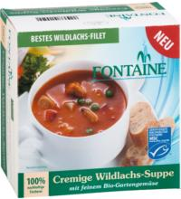Fontaine Cremige Wildlachs Suppe, 400 ml Dosemit feinem Bio-Gartengemüse
