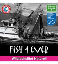 Fish For Ever Wildlachsfilet Naturell, ca. 160 gr Dose