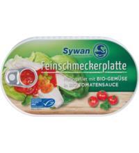 Sywan Heringsfilets Bio Feinschmeckerplatte, 200 gr Dose
