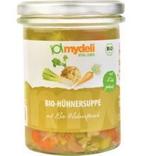 MyDeli Hühnersuppe, 350 gr Glas