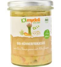 MyDeli Hühnerfrikassee mit Champignons und Gemüse, 360 gr Glas