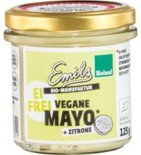 Emils Feinkost Vegane Mayo + Zitrone, 125 gr Glas