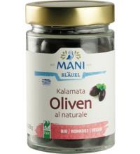 Mani Kalamata Oliven, al Naturale, 205 gr Glas