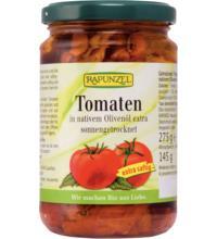 Rapunzel Getrocknete Tomaten in Olivenöl, 275 gr Glas (145 gr)