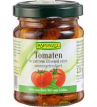 Rapunzel Getrocknete Tomaten in Öl, 120 gr Glas (90 gr)