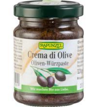 Rapunzel Crema di Olive, 120 gr Glas