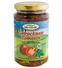 bio-verde Sonnengetrocknete Tomaten, 6x 200 gr Glas
