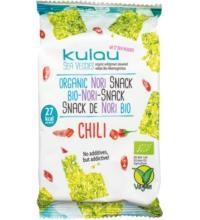 Kulau GmbH Nori-Snack CHILI, 4 gr Packung
