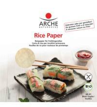 Arche Rice Paper, Reispapier für Frühlingsrollen 20-21 Blatt, 150 gr Packung