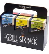 Sonnentor Grillgewürze Sixpack (6 x 30-70 gr), 325 gr Packung