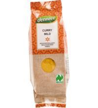dennree Curry, mild, 50 gr Packung