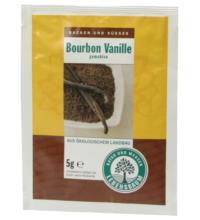 Lebensb Vanillepulver, Bourbon Vanille gemahlen, 5 gr Packung