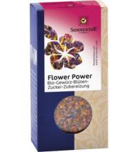 Sonnentor Flower Power Gewürz-Blüten-Mischung, 35 gr Packung