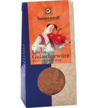 Sonnentor Lászlós Gulaschgewürz, 50 gr Packung