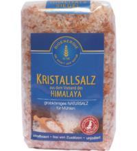 Bioenergie Himalaya Kristallsalz-Granulat,  unjodiert,  1 kg Packung