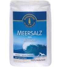 Bioenergie Meersalz aus Italien fein, 1 kg Packung