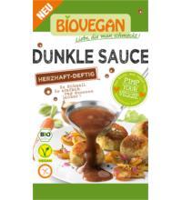Biovegan Dunkle Sauce, reicht für 0,25 ltr Wasser, 30 gr Packung -glutenfrei-