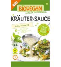 Biovegan Kräuter Sauce, reicht für 0,25 ltr Wasser, 23 gr Packung -glutenfrei-