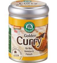 Lebensb Golden Curry, für Reis, Gemüse & Fleisch, 55 gr Dose