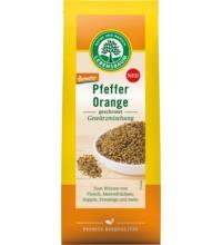 Lebensb Pfeffer Orange, geschrotet, 60 gr Packung