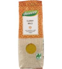 dennree Curry, mild, 55 gr Packung