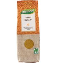 dennree Curry, scharf, 55 gr Packung