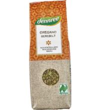 dennree Oregano, gerebelt, 25 gr Packung