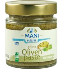 Mani Grüne Olivenpaste, 180 gr Glas