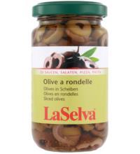 La Selva Oliven Rondelle, 210 gr Glas