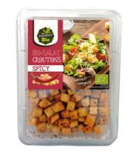 Die Frischebox Salatcroutons Spicy, 90 gr Packung