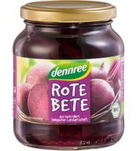 dennree Rote Bete in Scheiben, 340 gr Glas (240 gr)