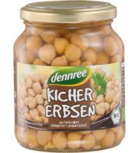 dennree Kichererbsen, 350 gr Glas (230 gr)