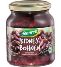 dennree Kidney Bohnen, 350 gr Glas (230 gr)